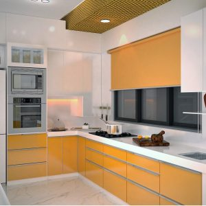 Modern Kitchen Design - L Shape