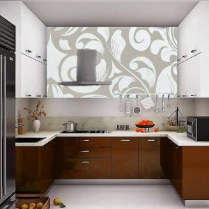 Modular Kitchen Design C Shape