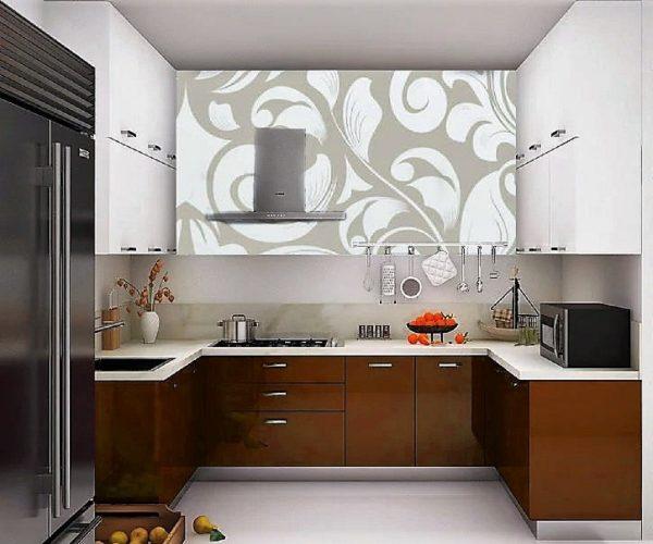 Modular Kitchen Design C Shape