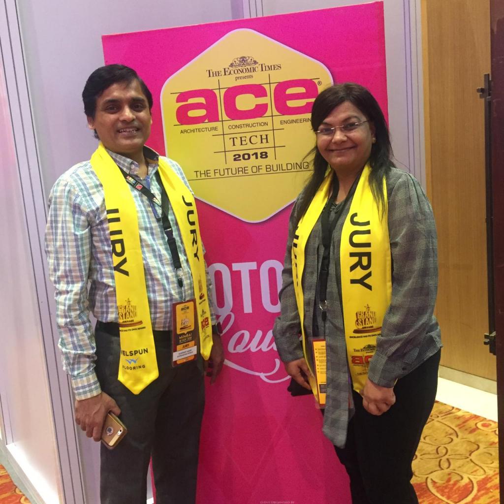 AceTech 2018 Jury - Sandeep and Neeta Jajoo