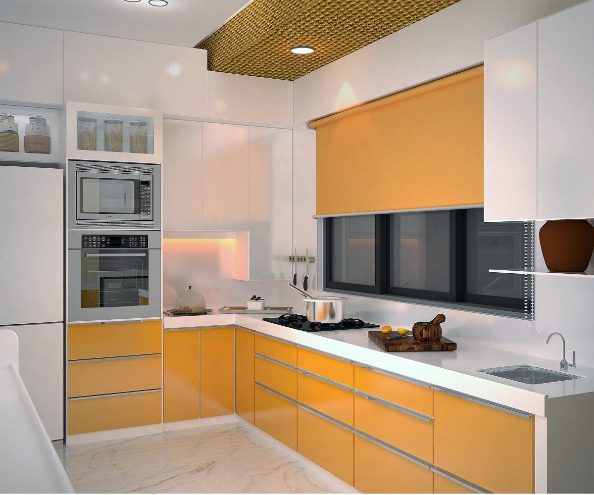 Modern Mini Kitchen Design: Modern Kitchen Interiors