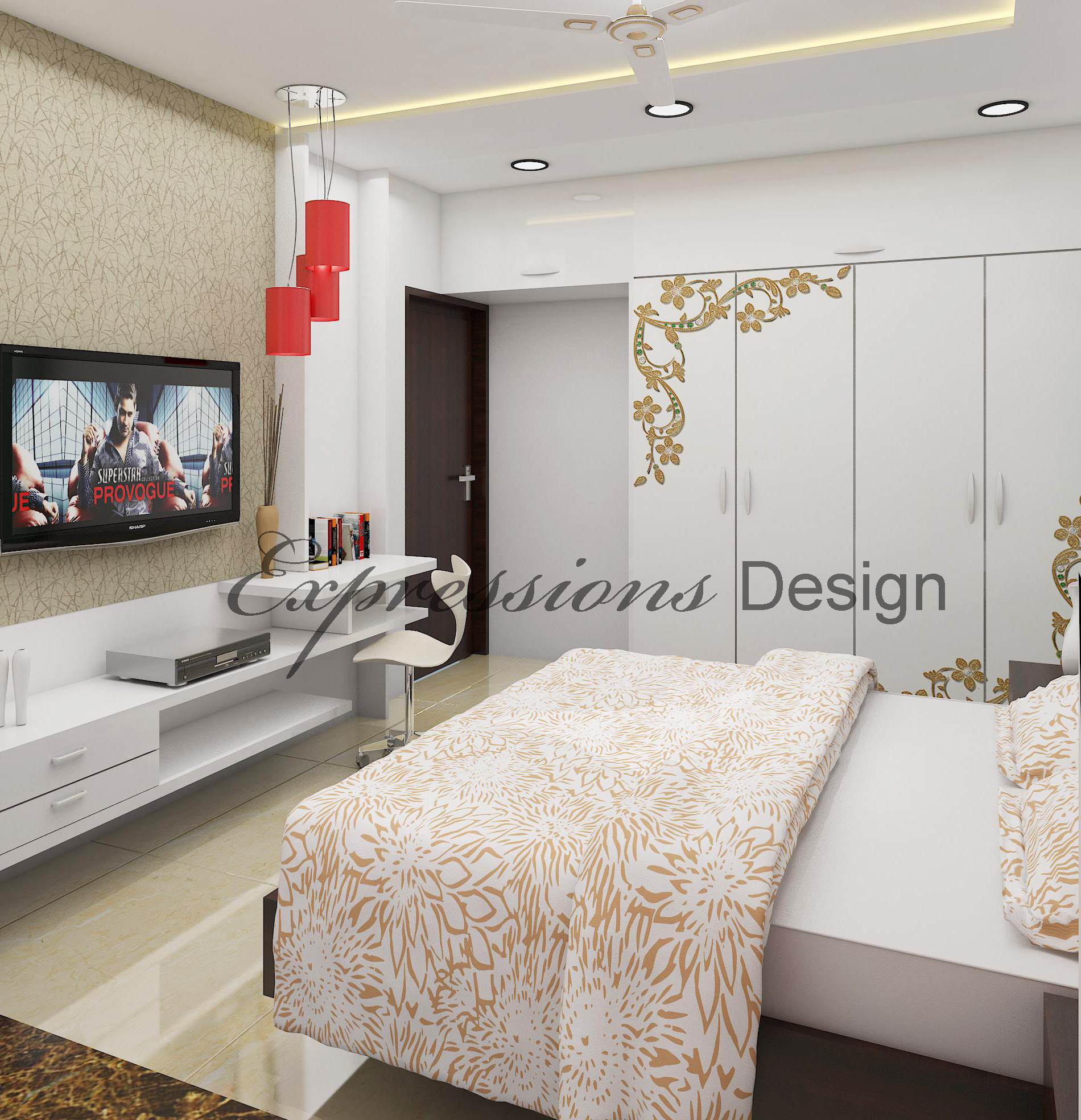 Residential Interior Design - Bed Room_P2Pic1
