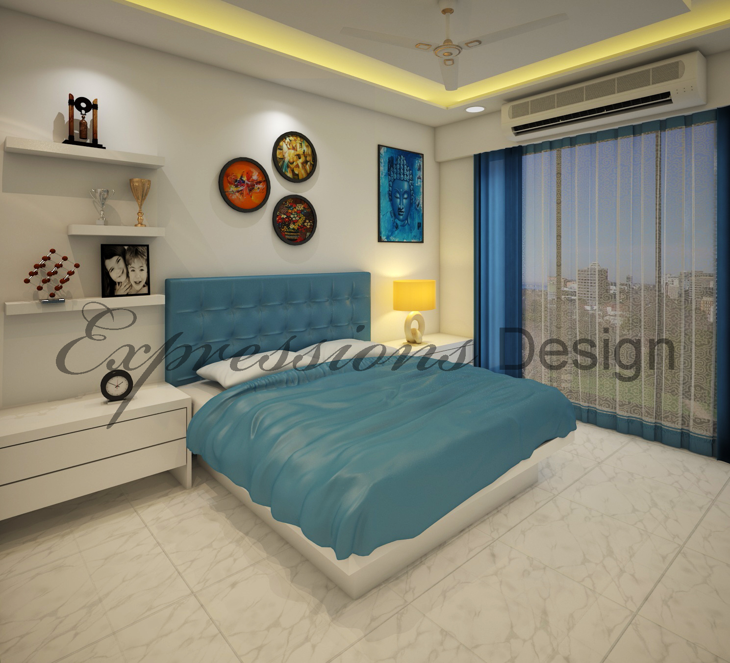 Residential Interior Design - Guest Room P2Pic4